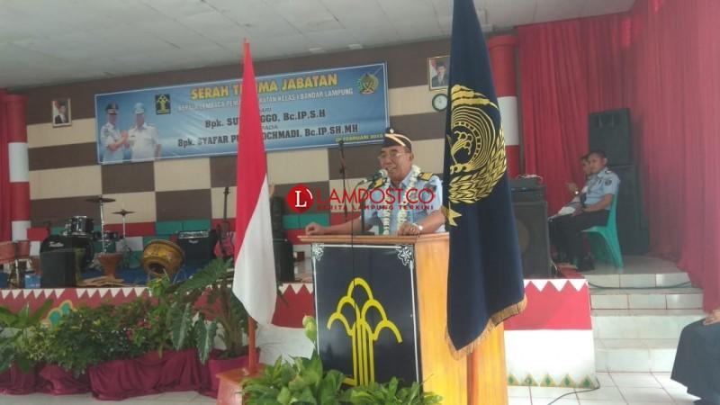 Pimpin Lapas Rajabasa, Syafar Pudji akan Jalankan Getting to Zero Halinar