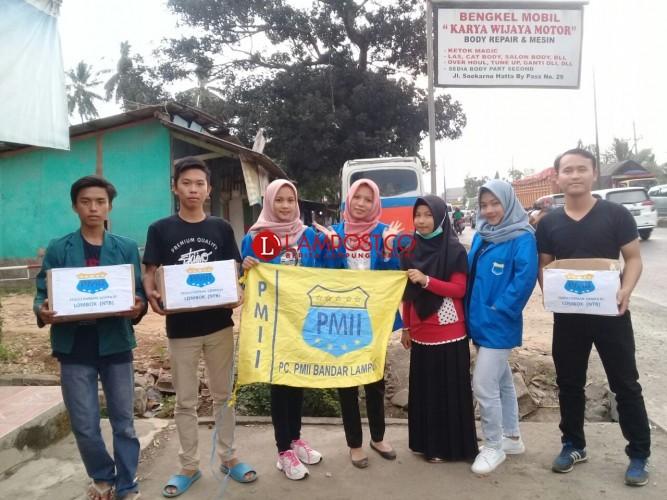 PMII Bandar Lampung Galang Dana Untuk Korban Gempa Lombok