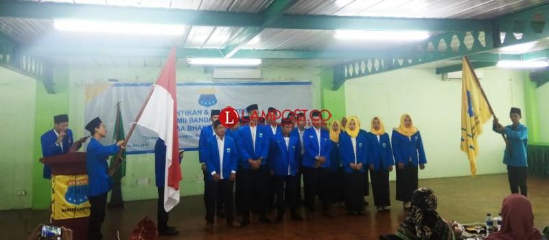 PMII Cabang Bandar Lampung Periode 2018-2019 Dikukuhkan