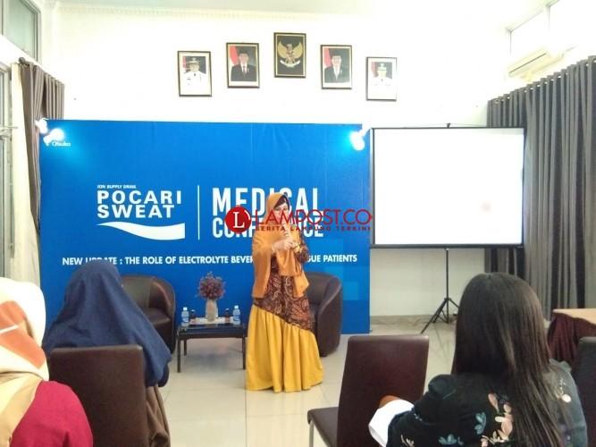 Pocari Sweat Gelar Seminar Penanganan Pasien DBD Dengan Elektrolit