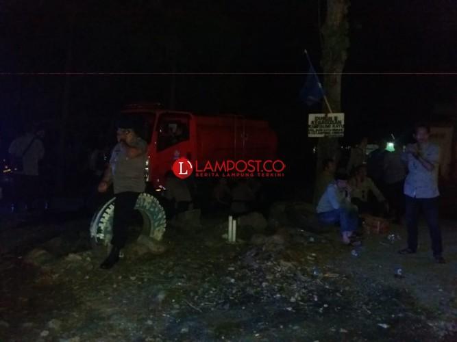 Polisi Amankan Lokasi Keributan di Lamteng, Cegah Perang Kampung