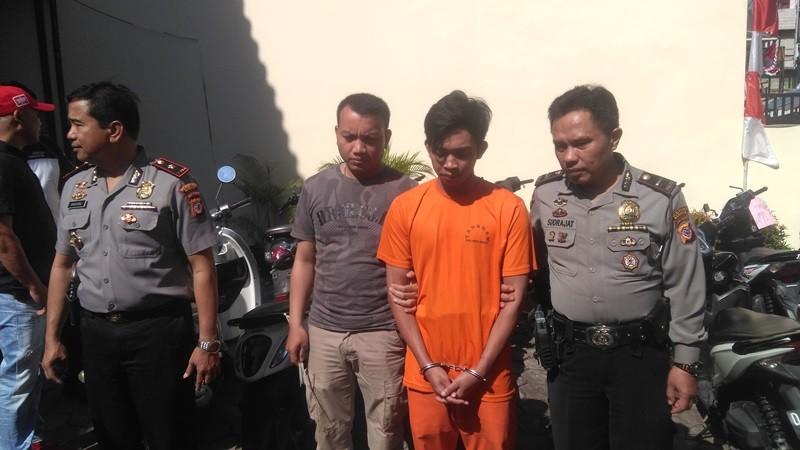 Polisi Bekuk Pencuri 25 Motor di Bandung
