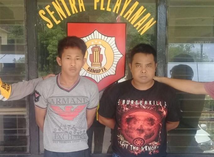 Polisi Ringkus 2 Pelaku Pencurian Komputer di SMAN 2 Buay Bahuga
