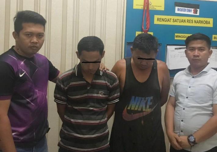 Polisi Tangkap Dua Pelaku Penyalahgunaan Narkoba