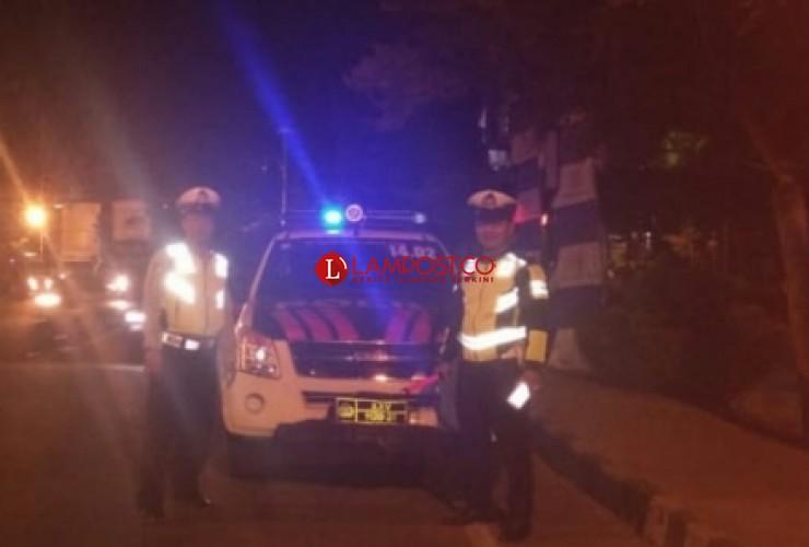 Polres Lampura Gelar Patroli Malam