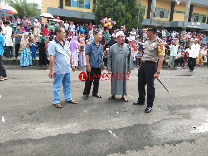 Polres Lampura ikut Amankan Kedatangan Jemaah Haji