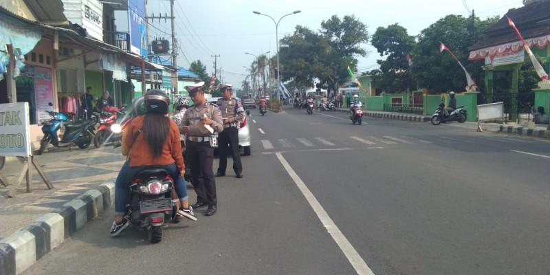 Pelanggar Lalu Lintas di Lampung Selatan akan Ditindak Tegas