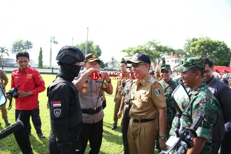 Polres Lamtim Siapkan Enam Pos Operasi Ketupat di Jalintim