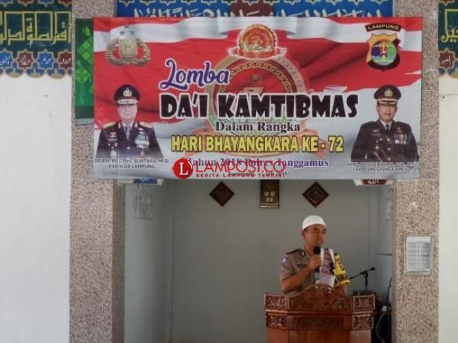 Polres Tanggamus Gelar Lomba Dai Kamtibmas