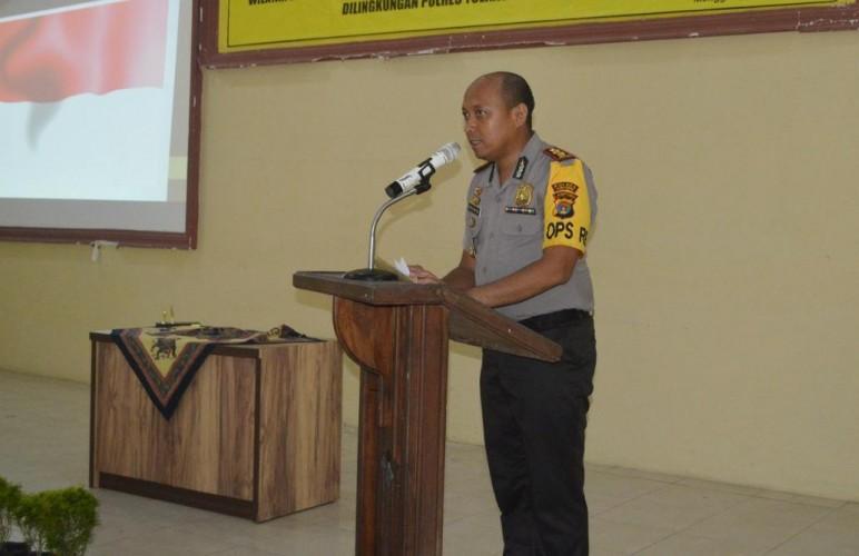 Polres Tulangbawang Siap Sambut Wakapolda Lampung Isi Dialog Pemilu Damai