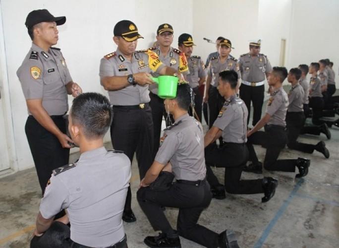 Polres Way Kanan Terima 30 Personel Baru