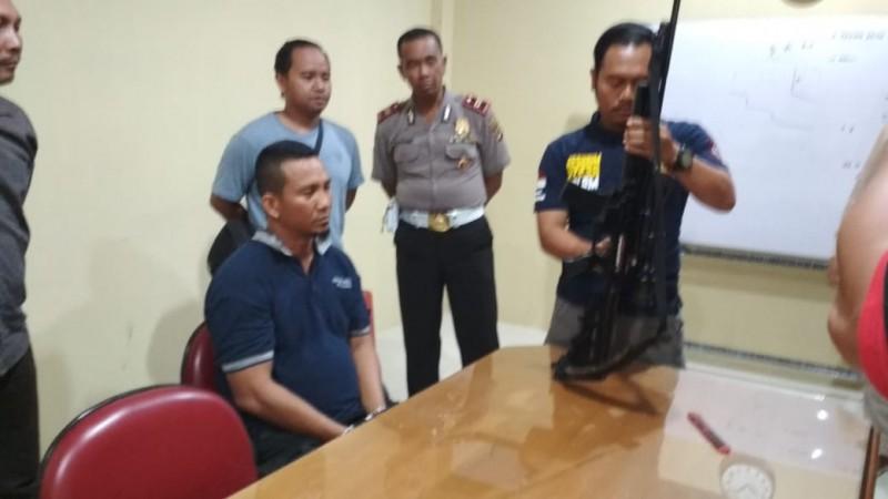 Polresta Serahkan Pelaku Penembakan ke RSJ