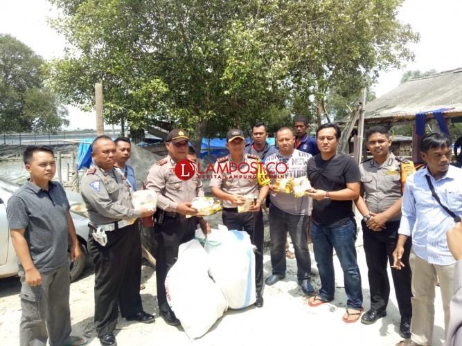 Polsek Pasirsakti Gagalkan Penyelundupan 60 Kg Sabu