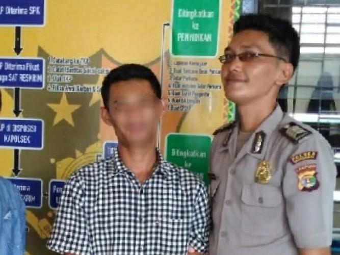 Polsek Talang Padang Ciduk Pelaku Penyalahgunaan Sabu