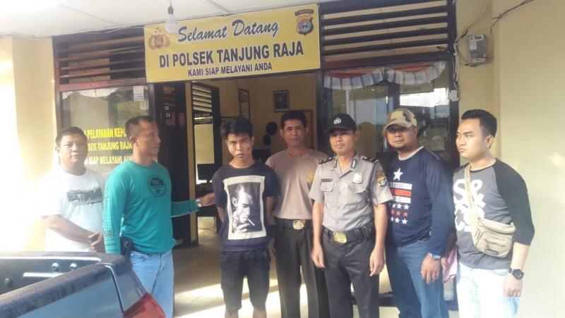 Polsek Tanjungraja Amankan Pemuda Pelaku Curanmor