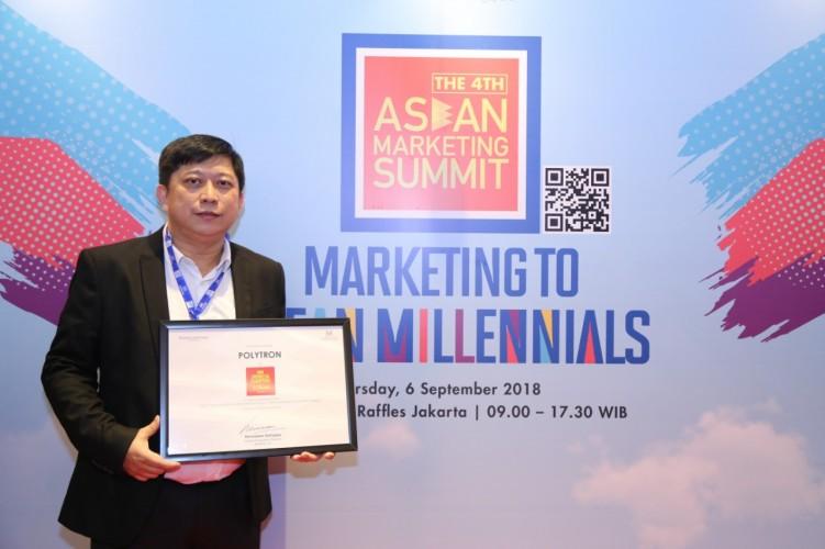 Polytron Raih Penghargaan Indonesia Champion for ASEAN 2018