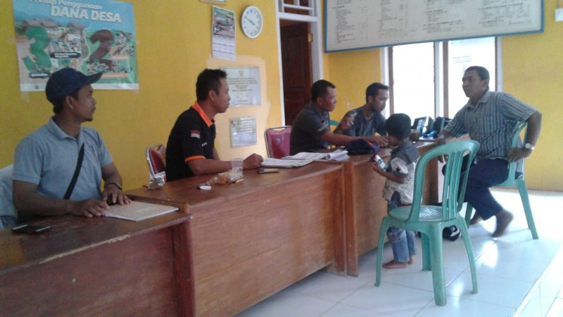 PPS Desa Kemalo AbungData Mata Pilih Di Atas Usia 70 Tahun