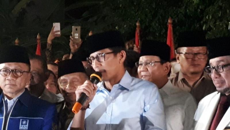 Prabowo Gandeng Sandiaga Uno di Pilpres 2019
