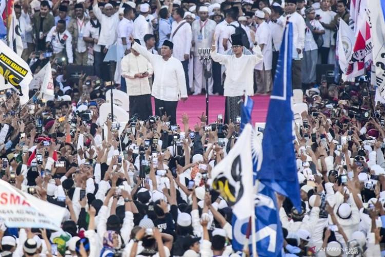 Prabowo Optimistis Menang di Pilpres 2019