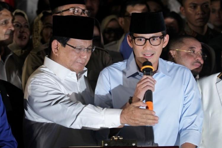 Prabowo-Sandi Kritisi Kondisi Ekonomi Bangsa