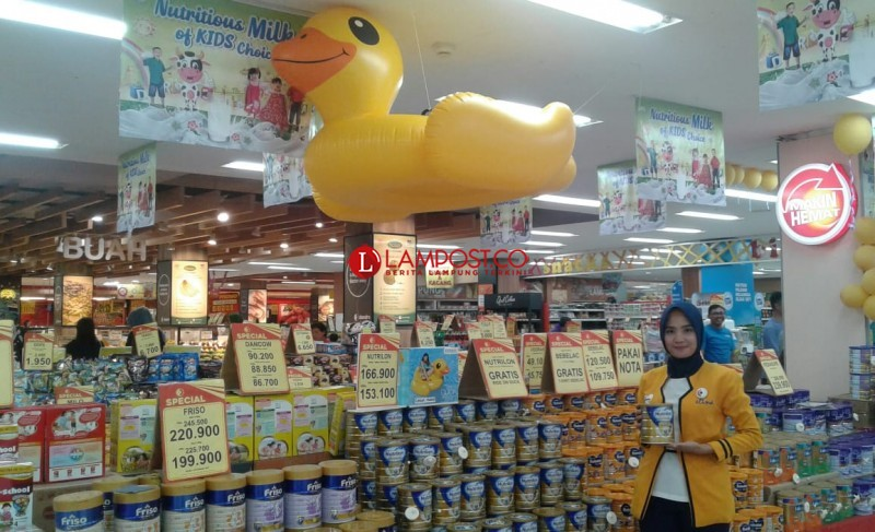 Program Spesial Susu Anak di Chandra Superstore