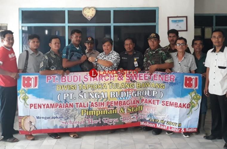 PT BSSW Tulangbawang Salurkan 2000 Paket Sembako