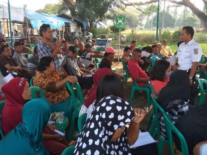 PT KAI Gelar Diskusi Soal Aset Bersama Warga Sinar Banten