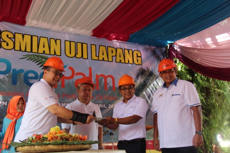 PTPN VII Launching PreciPalm