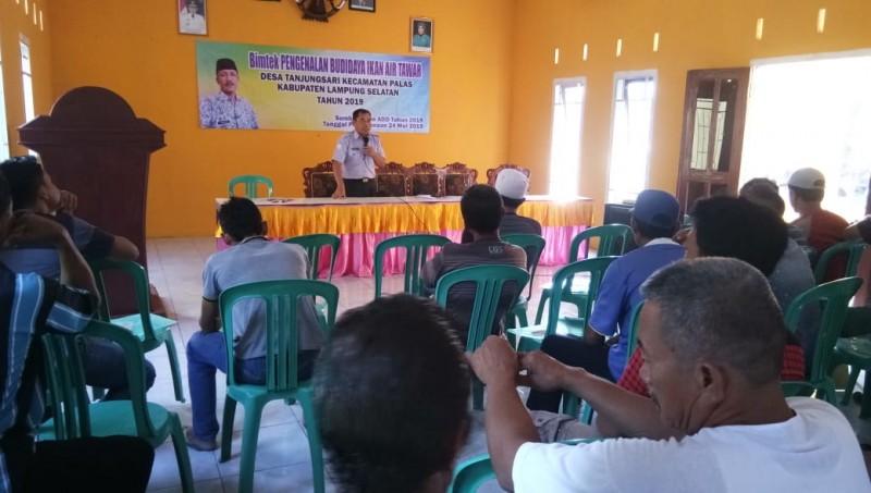 Puluhan Masyarakat Tanjungsari Ikuti Pelatihan Budidaya Ikan Air Tawar