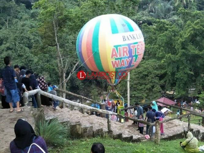 Puluhan Ribu Wisatawan Kunjungi Destinasi Tanggamus