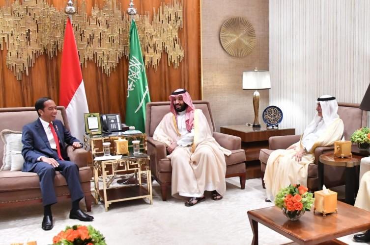 Putra Mahkota Arab Saudi Puji Stabilitas Politik dan Pertumbuhan Ekonomi Indonesia