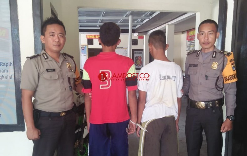 Rampas Ponsel, Dua ABG Ditangkap Polisi