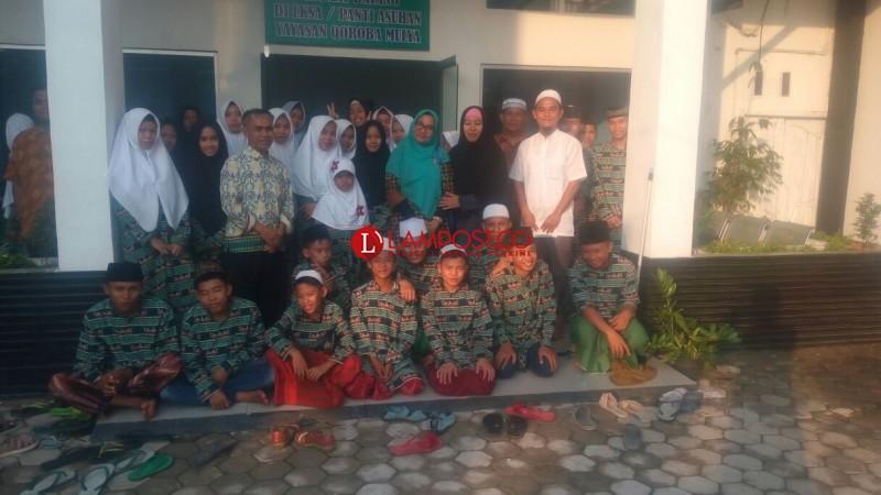 Rangkaian Akhir Lampung Post-Alfamart Berbagi di Panti Asuhan Qoroba Mulya