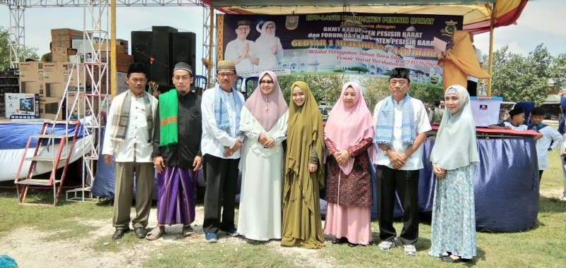 Ratusan Masyarakat Ikut Meriahkan Pawai Taaruf Memperingati Tahun Baru Islam.