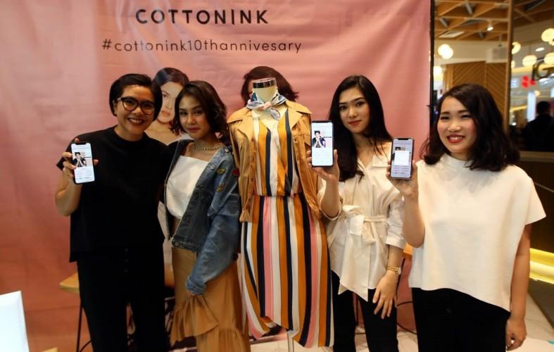 Rayakan HUT Ke-10, Cottonink Luncurkan Koleksi Busana Berbagai Mood