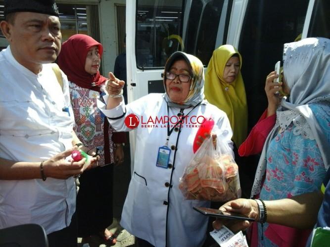 Razia Makanan di Lampung Tengah, Tim Gabungan Temukan Boraks