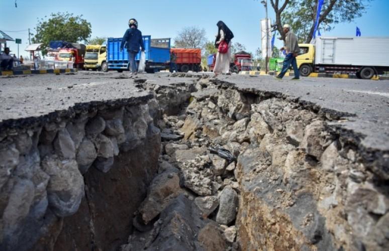 Rentetan Gempa di Lombok Menewaskan 515 Jiwa