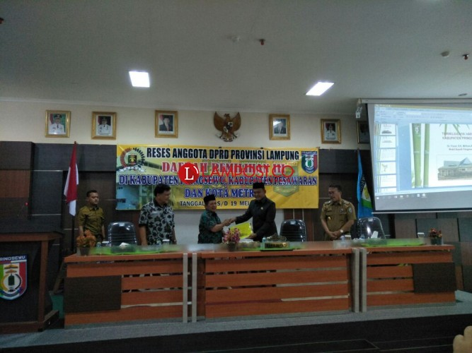 Reses Anggota DPRD Lampung ke Pringsewu Fokuskan Infrastuktur