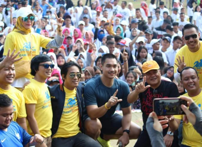 Ribuan Warga Ambil Bagian Meriahkan Colour Fun AMPI