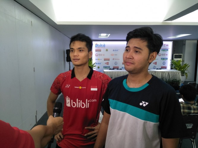 Ricky/Angga Kalah di Final India Open