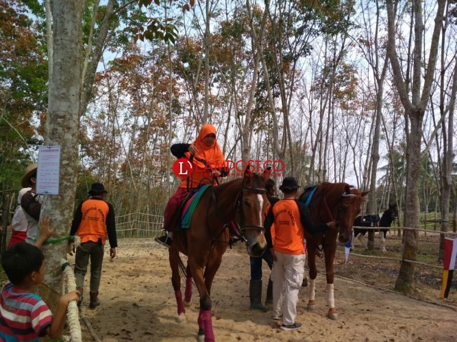 Riverside Ranch Natar Destinasi Baru Wisata Berkuda di Natar