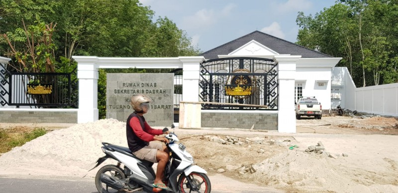 Rumah Jabatan Sekkab Tubaba Ditarget Selesai Sebelum 20 April 2019
