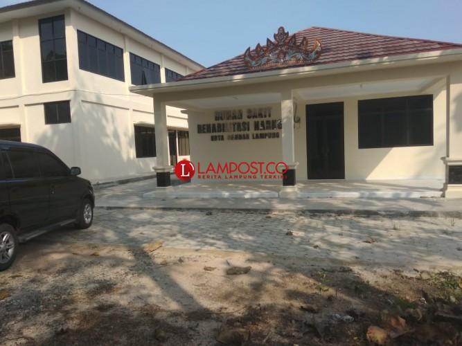 Rumah Sakit untuk Pencandu Narkoba Kota Bandar Lampung Siap Difungsikan