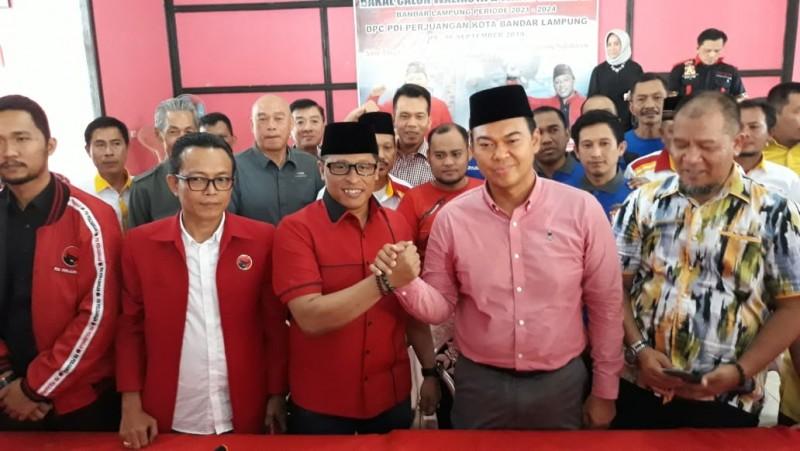 Rycko Gandeng Wiyadi Maju Pilwakot Bandar Lampung