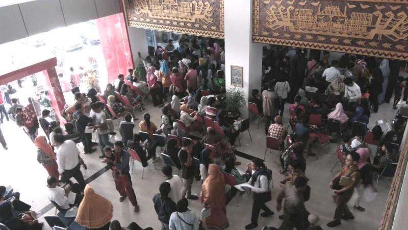 Saat Pemilu, Disdukcapil Bandar Lampung Buka Pelayanan Setengah Hari