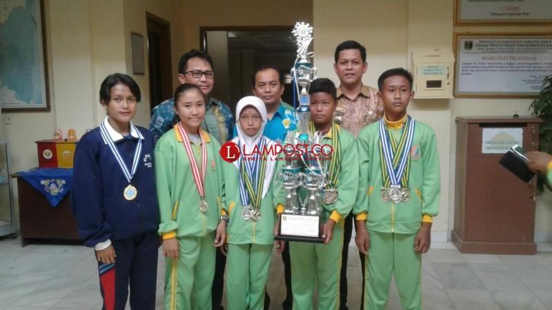 Sabet Juara Umum O2SN, Lamtim Wakili Lampung di Ajang O2SN Tingkat Nasional