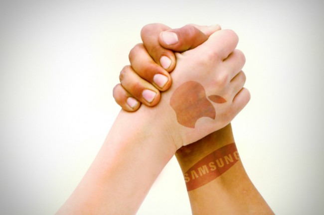 LAMPUNG POST | Apple dan Samsung Sepakati Kontrak Rp120 Triliun