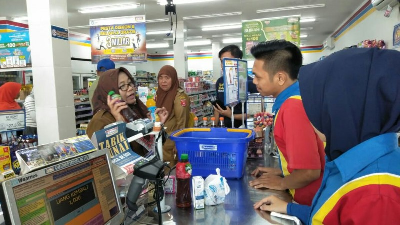Satgas Pangan Lambar SidakSembako di Pasar dan Toko