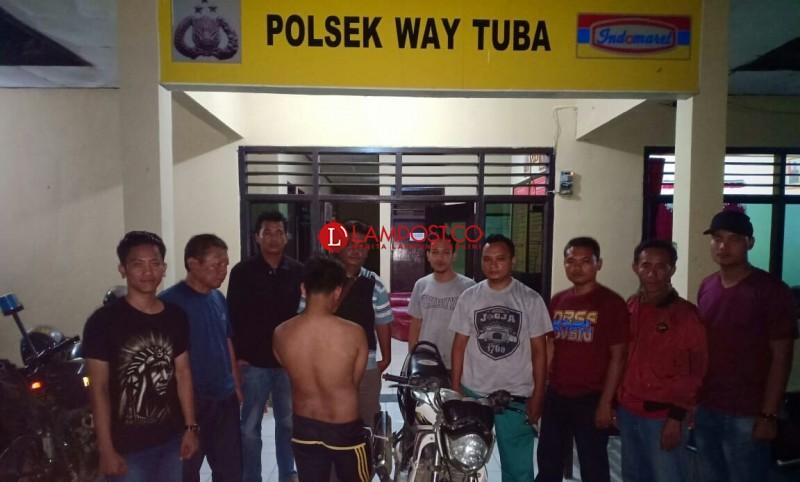 Satu Bulan DPO, Pelaku Begal Motor Milik PPK Way Tuba Ditangkap Polisi