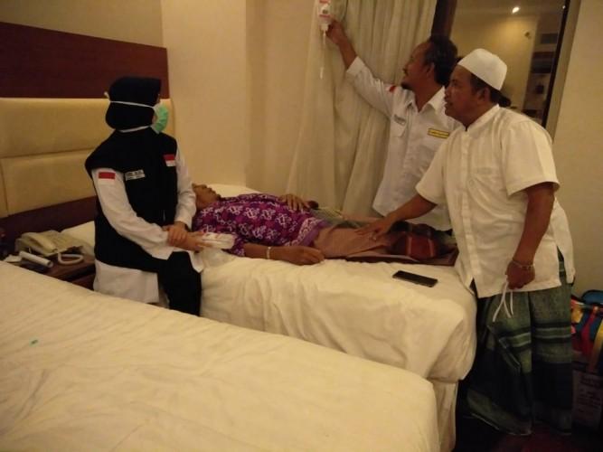 Satu Jamaah Calon Haji Asal Lamteng Alami Dehidrasi